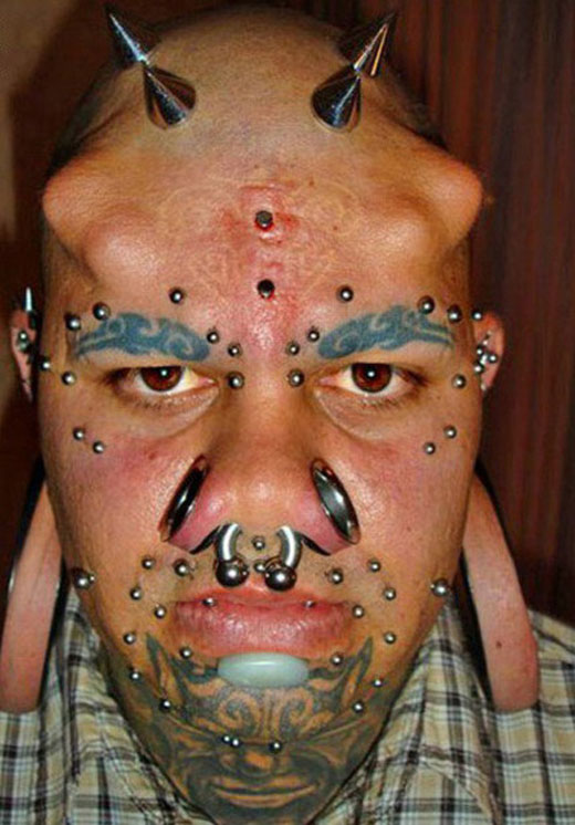 Bizarre People Tattoos