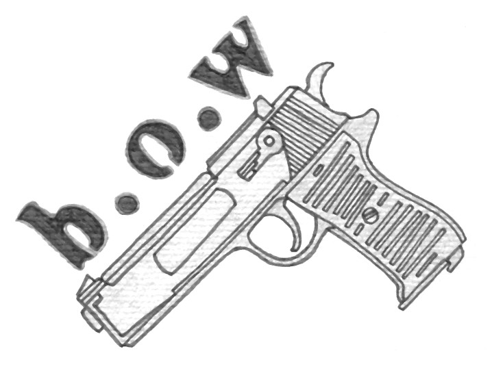 Born Of War Pistol Tattoo Sample