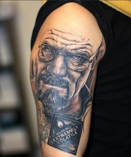 Breaking Bad Tattoos On Arm