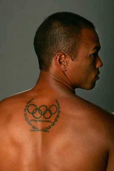 Bryan Clay Olympic Tattoo