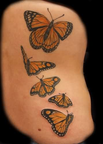 Butterflies Tattoos Image
