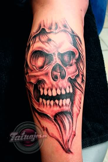 Calavera Skull Tattoo For Eveyone