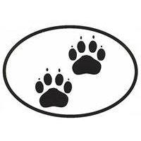 Cat Paws In Circle Tattoo Design