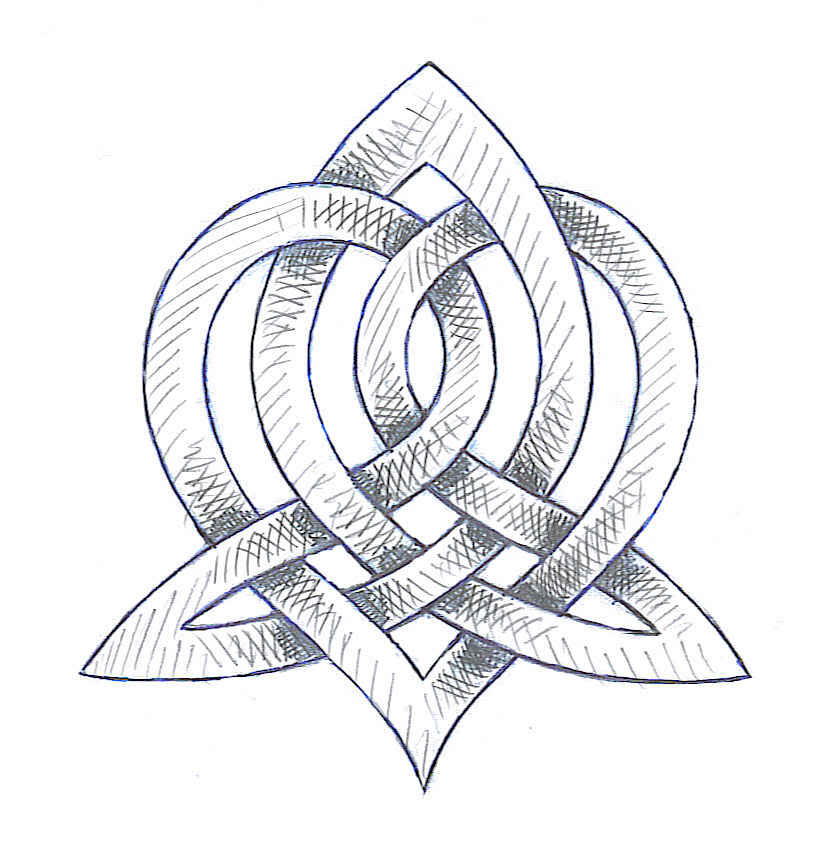 Celtic Sister Symbol Tattoo Sample