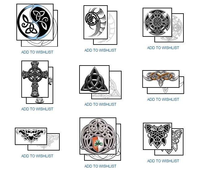 Celtic Symbol Tattoos