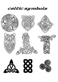 Celtic Symbols Tattoos Set
