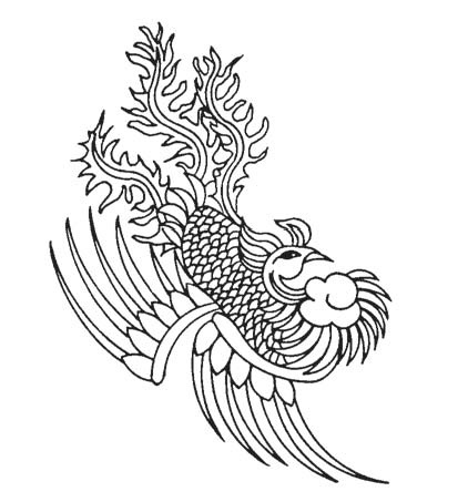 Chinese Phoenix Tattoo Sample