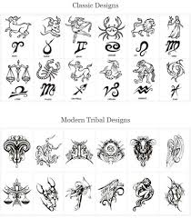 Classic And Modern Symbols Tattoo Designs