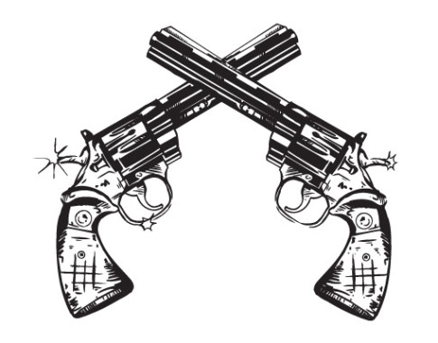Colt Pistol Tattoo Designs