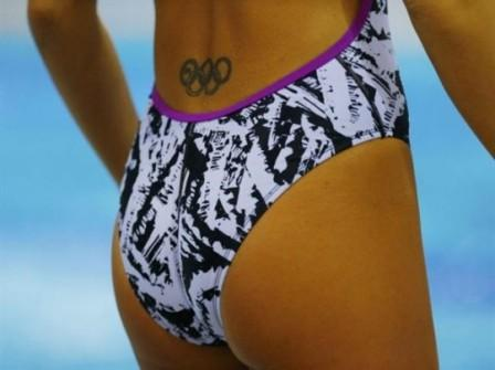 Cool Olympic Tattoo On Lowerwaist