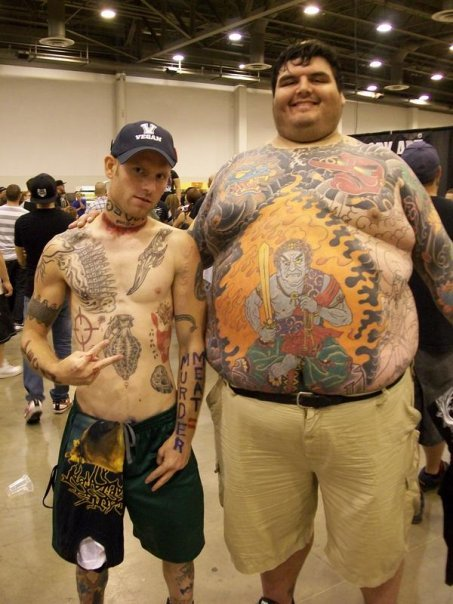 Crazy People With Tattoos