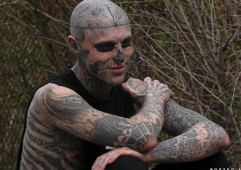 Crazy Pierced Tattooed People