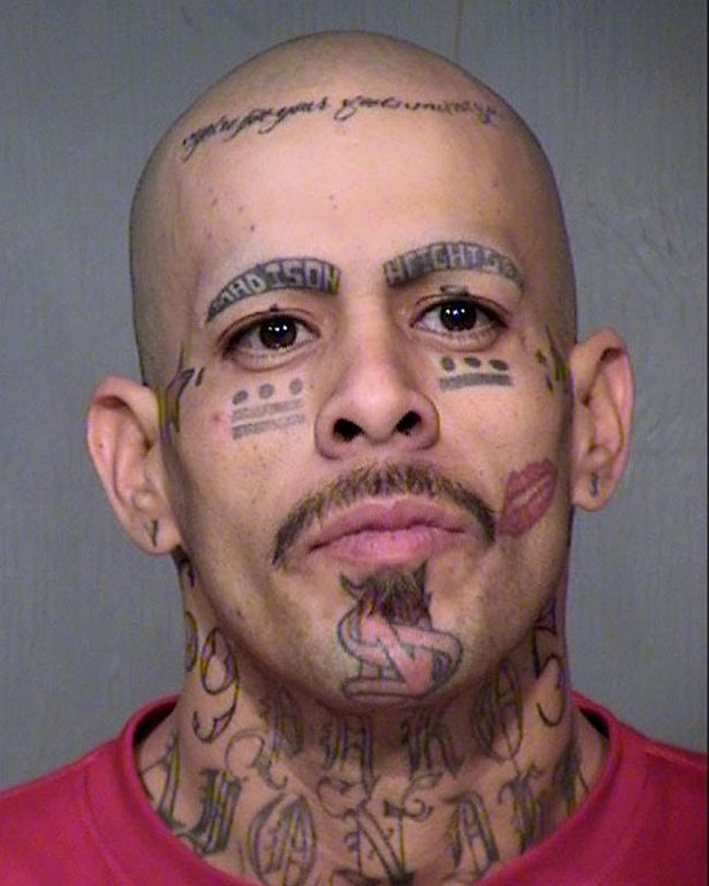 Crazy Tattoos On Face Of People