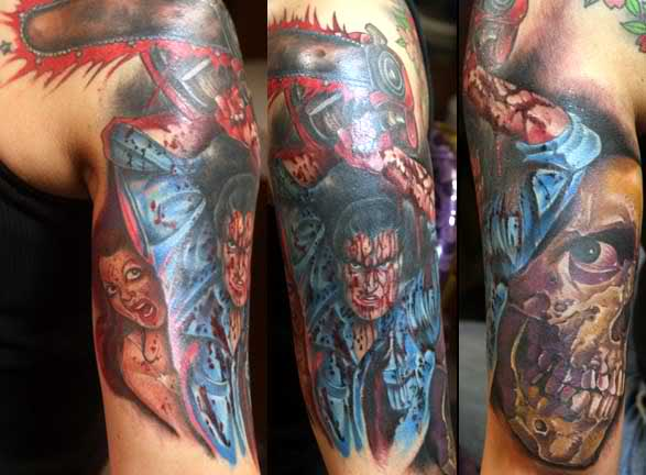 Dangerous Video Game Character Tattoos