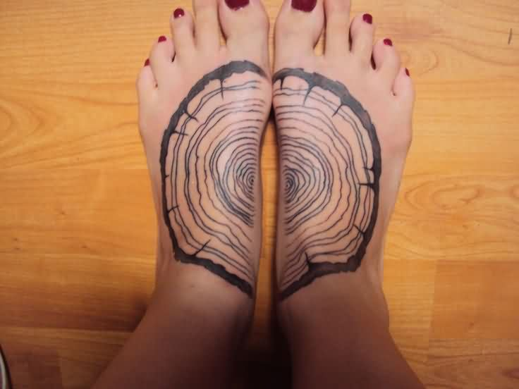 Different Tattoos On Feet