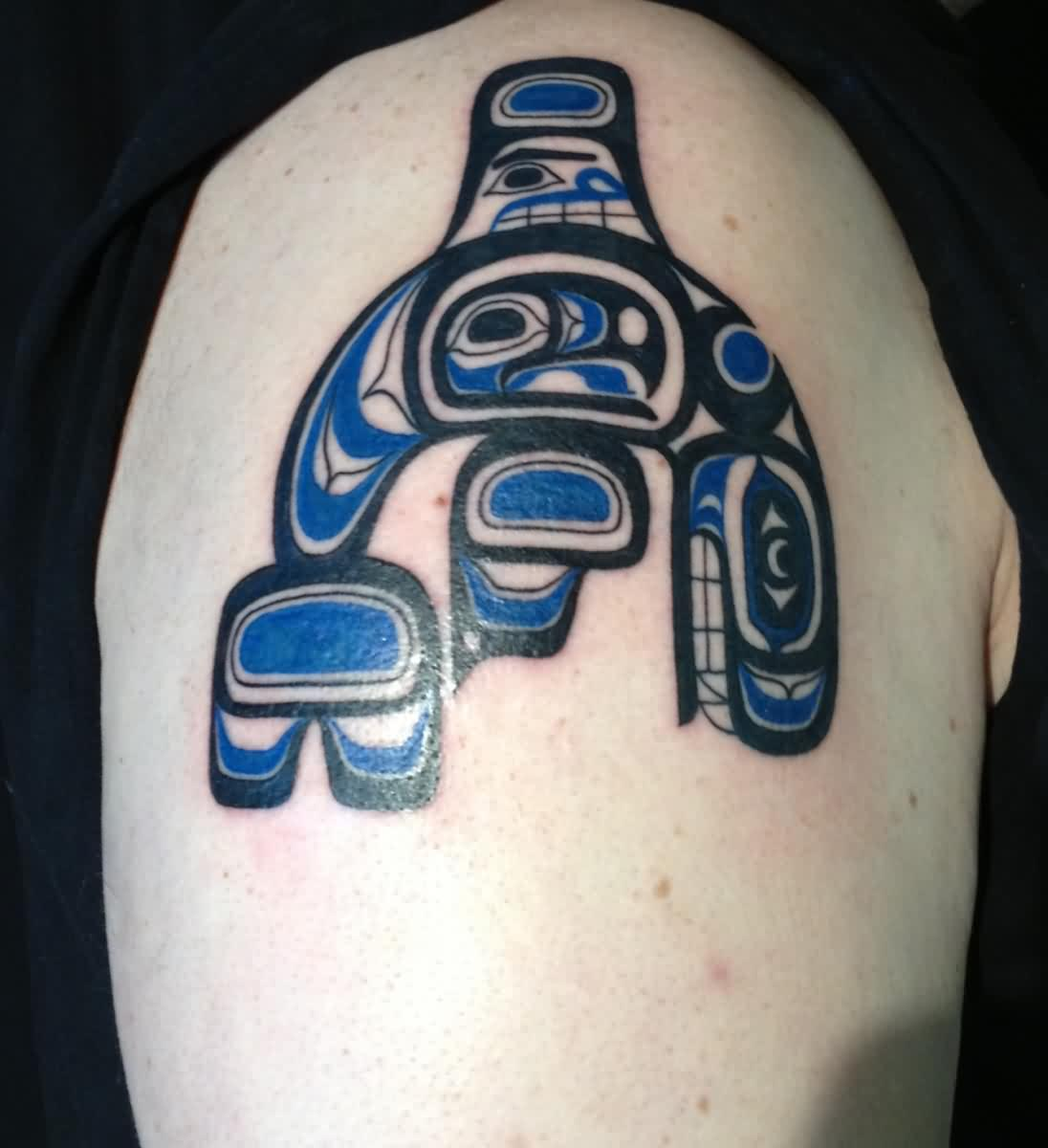 Eagle Killer Whale Native American Tattoo Specially For Men