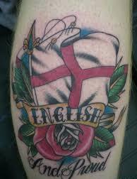 English Patriotic Tattoo