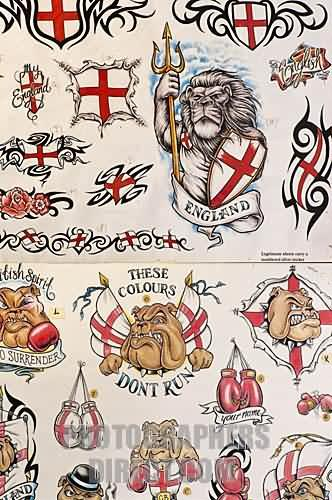 English Patriotic Tattoos