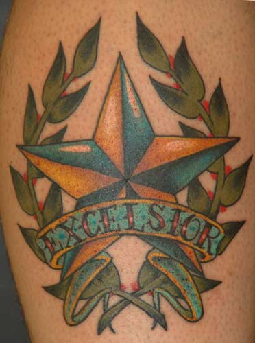 Excel Nautical Star Tattoo