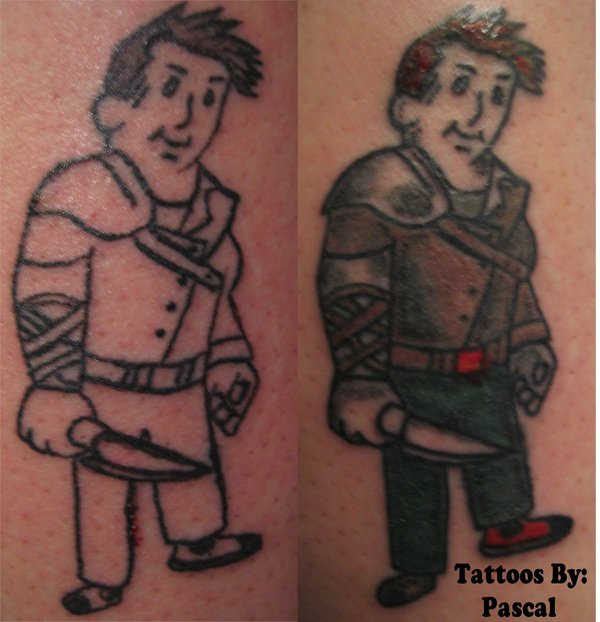 Fallout Video Game Tattoos