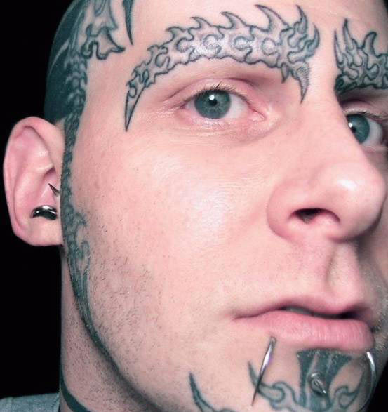 Famous People With Face Tattoos