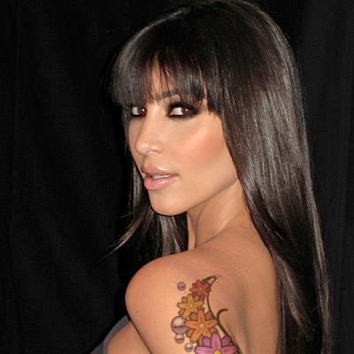 Famous People's Shoulder Tattoos For Girls