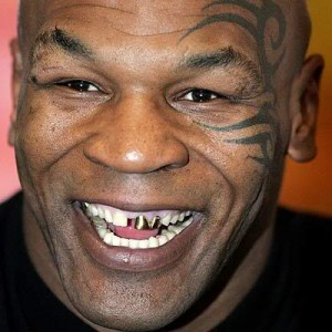 Famous People's Tribal Face Tattoo