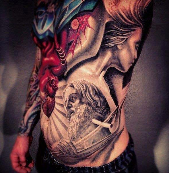 Fantastic Full Body Tattoos