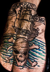 Fantastic Pirate Tattoos