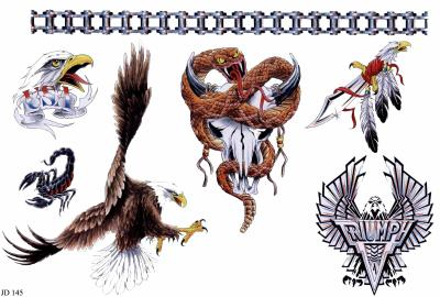 Few Native American Tattoo Designs