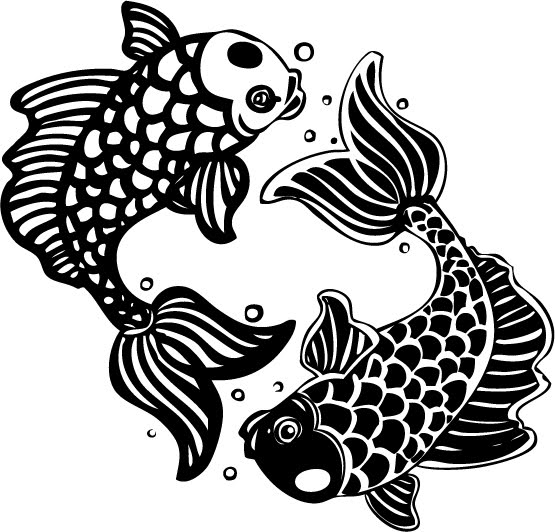 Fish Pisces And Bubbles Tattoos