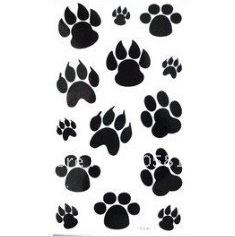 Free Dog Paw Tattoo Designs