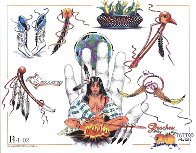 Free Native American Symbol Tattoo Flash