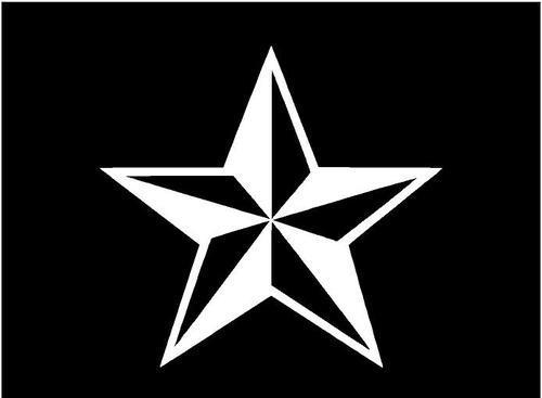 Free Nautical Star Tattoo Design
