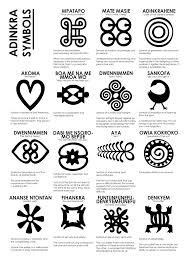 Fresh Adinkra Symbols Tattoo Designs