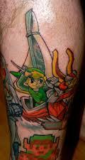 Fresh Colorful Video Game Tattoos
