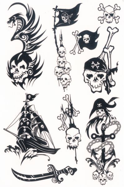 Fresh Ink Pirate Tattoo Designs