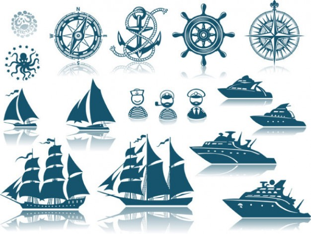 Fresh Nautical Tattoos Sheet