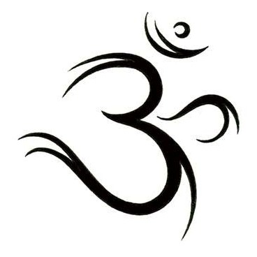 Fresh Ohm Symbol Tattoo Design