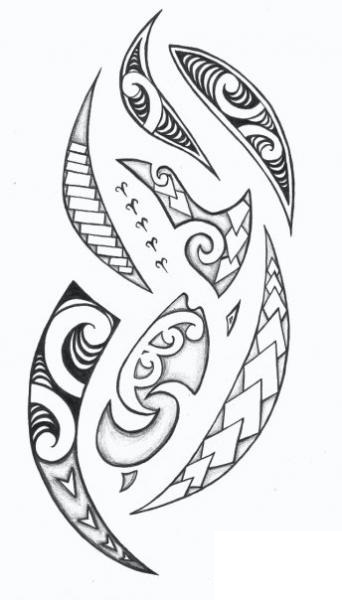 Fresh Polynesian Tattoos