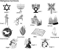 Fresh Religious Symbols Tattoo Designs