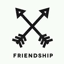 Friendship Black Symbol Tattoo Pic