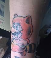 Funny Video Game Tattoo On Lower Arm