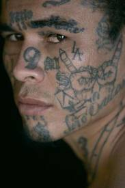 Gang People's Face Tattoos