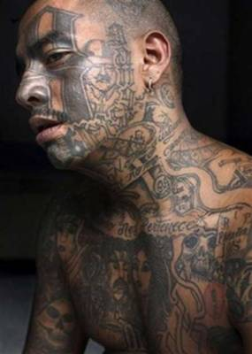 Gang's People Body Tattoos