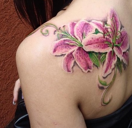 Gorgeous Back Shoulder Tattoos