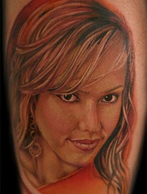 Gorgeous Famous People's Face Tattoo