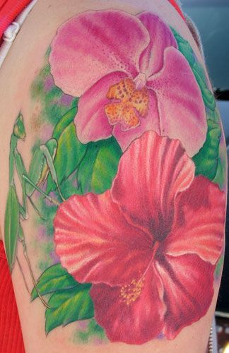 Gorgeous Flower Tattoos