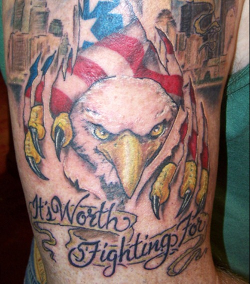 Great American Patriotic Tattoos