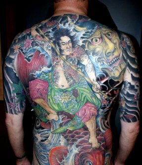 Great Asian Tattoos On Body For Men